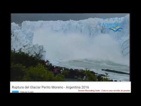 Tras varios días de suspenso, cayó el puente de hielo del glaciar Perito Moreno