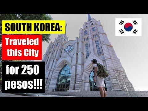 4TH BEST CITY IN KOREA - Daegu City   Travel Vlog