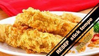 RESEP Bikin stick tempe crispy  Mudah Dan Enak