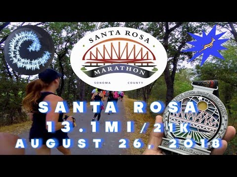 Santa Rosa Half Marathon FULL RACE 2018 HD 1080p