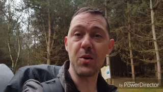 Rendlesham Forest Solo 2 Day Wild Camp with DD Travel Hammock - Part Two March 2017