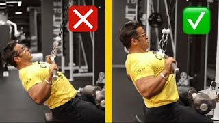 4 Important Gym Exercises You Are Doing Wrong | Yatinder Singh