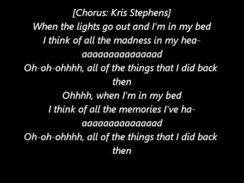 T.I. ft. Kris Stephens, B.o.B. & Kendrick Lamar - Memories Back Then (Lyrics)