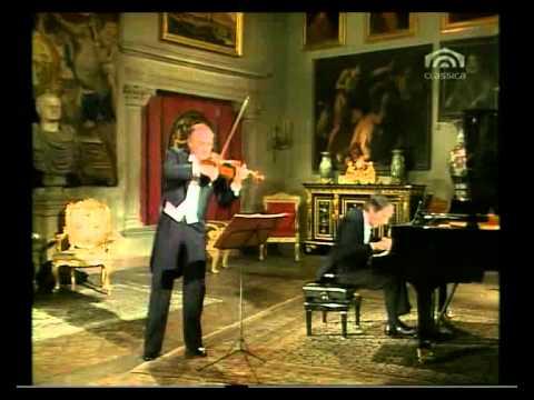 W A Mozart, VIOLINSONATE KV 372   Salvatore Accardo, Violine   Bruno Canino, Klavier