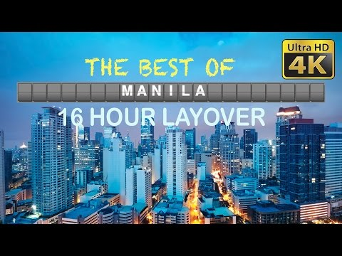 DIY Layover (4K) - 18 Hours in Manila, Intramuros, San Agustin Church, Fort Santiago, and more