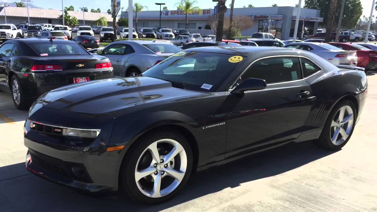 Camaro Rs 2015 >> 2015 Chevy Camaro 1lt With Rs Package In Riverside