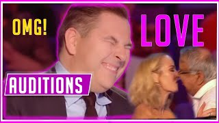 THE MOST FUNNY LOVE AUDITIONS ON BRITAIN'S GOT TALENT EVER ! *CONTESTANTS FALL IN LOVE WITH JUDGES*