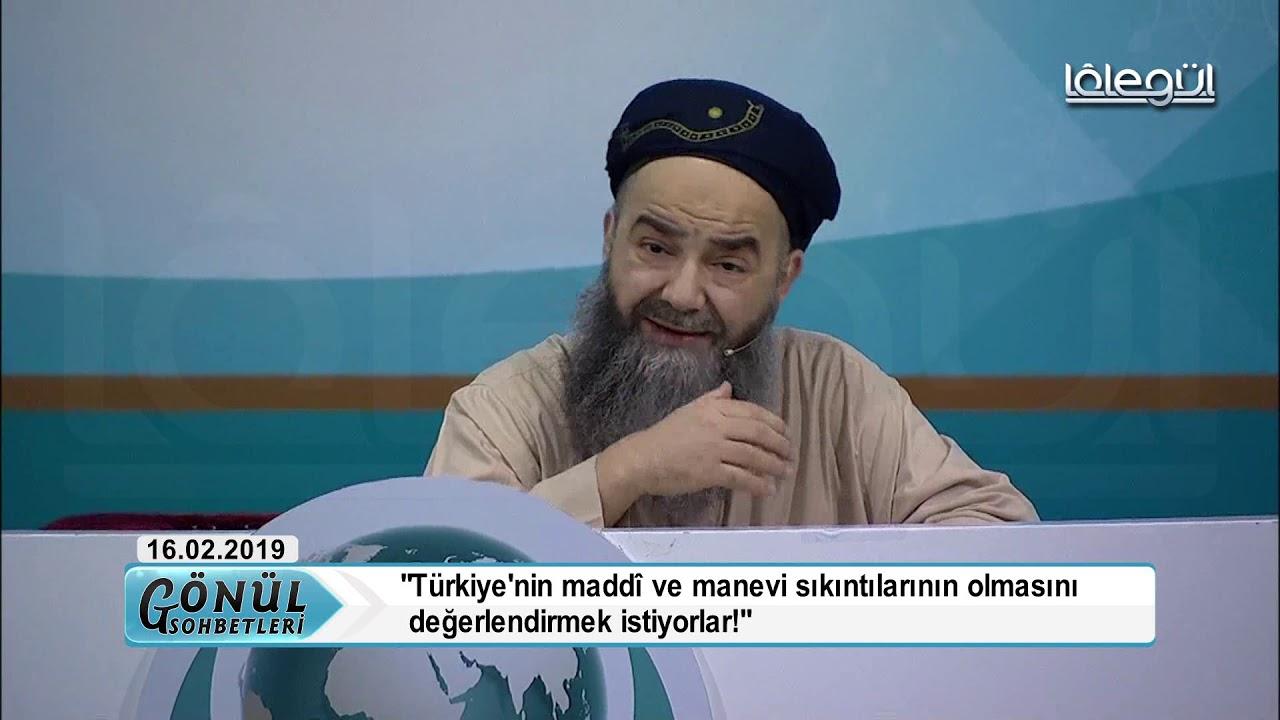 16 Şubat 2019 Tarihli Kıyamder Sohbet Özel - Cübbeli Ahmet Hocaefendi Lâlegül TV