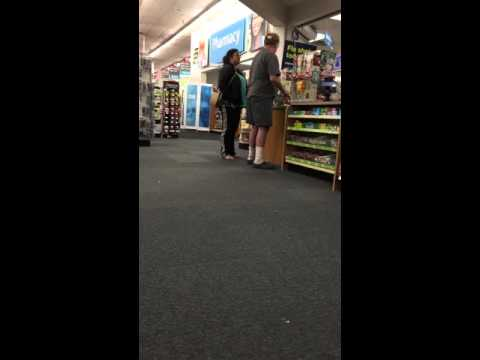 Customer Loses It At CVS Pharmacy - Drops Pants!