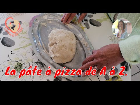 Pâte Pizza De A À Z. Allez, rendez-vous en cuisine..