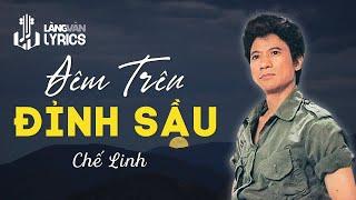 Chế Linh - Thị Trấn Về Đêm  [OFFICIAL KARAOKE M/V]