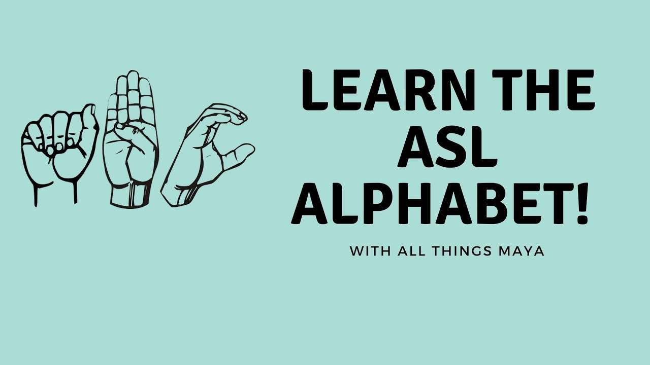 how to learn asl videos