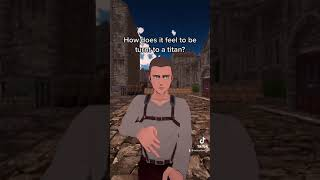 Connie gets asked a question (AOT VR) #shorts