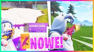 NOWE SKINY DO BRONI W GRZE! - Fortnite Battle Royale