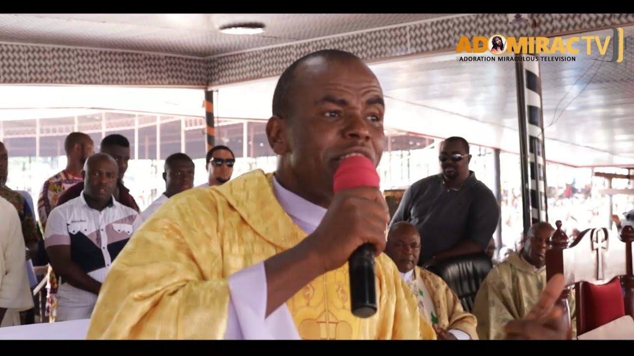 Download Rev Fr, Ejike Mbaka - Jesus Is The Solution To What Nigeria Is Passing Through