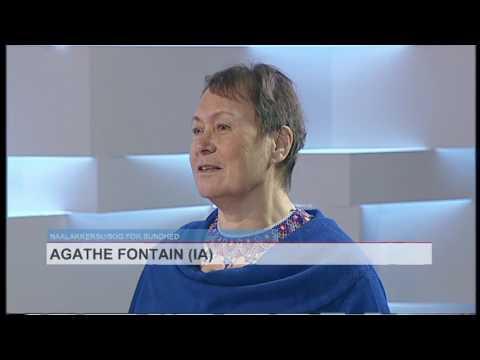 Live med Agathe Fontain 24 03 2017