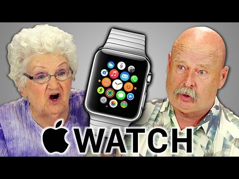 ELDERS REACT TO APPLE WATCH
