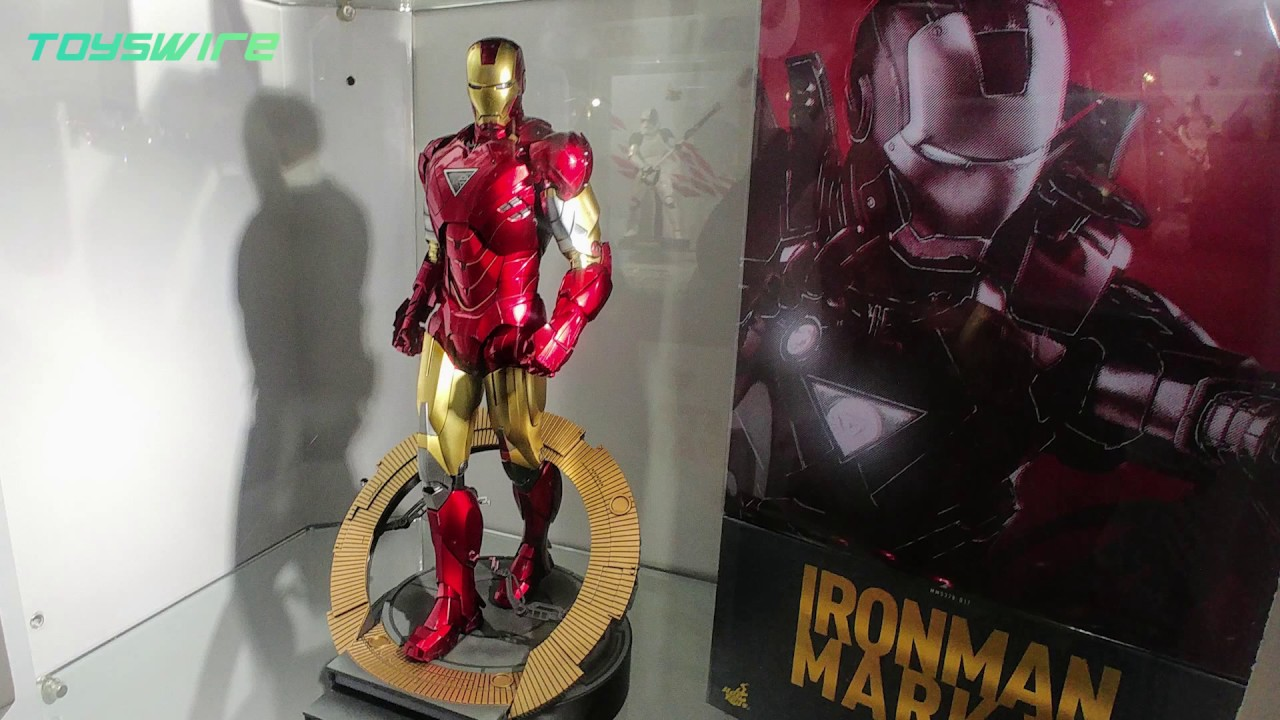 hot toys iron man mark vi diecast collectible figure - youtube