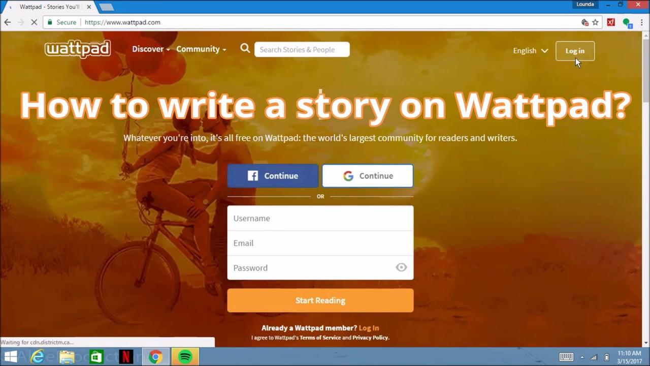 How to write stories on Wattpad  create on wattpad