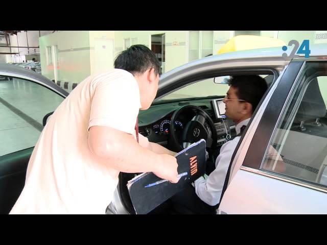 24 يرصد سيارات أجرة تعطل جهاز إنذار السرعة وتنفصل عن مركز المراقبة