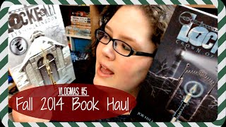 VLOGMAS #5 | Fall 2014 Book Haul Thumbnail