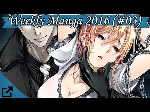Top 10 Japan's Weekly Manga 2016 (#03)