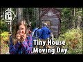 Scary Tiny House Moving Day. We Barely Made it!