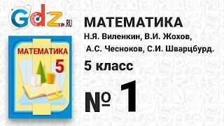 № 1 - Математика 5 класс Виленкин