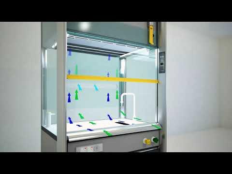 Mobiline Fume Cupboard For Schools  - Recirculatory Fume Hood