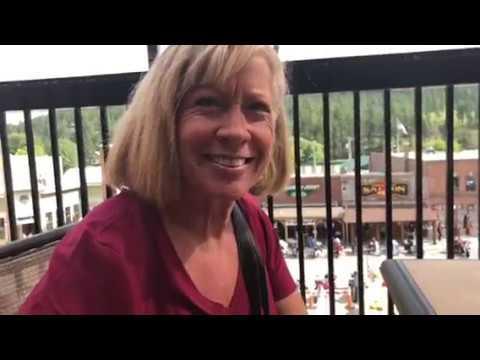 Caravan Carolyn chance meeting in Custer South Dakota, Sturgis 2018