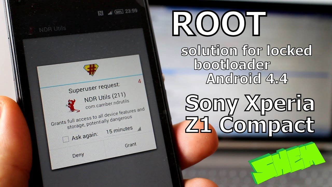 Sony Xperia Z1 pact D5503 ROOT solution for locked bootloader Android 4 4 firmware