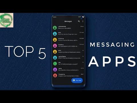 Best 5 Text Messaging Apps (Default App Alternatives)