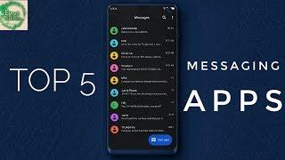 Best 5 text messaging apps (Default app alternatives) screenshot 1