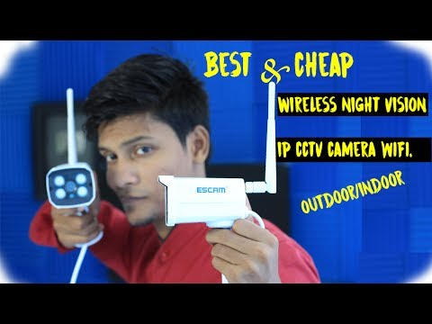 Cheap and Best Wireless CCTV Camera | Waterproof | Night vision infrared | 720p hd |  WIFI ip NVR |