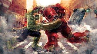 Халк против Халкбастера.Мстители- Эра Альтрона.Клип
