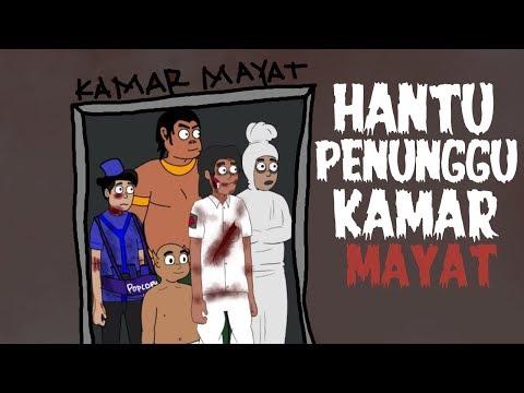 Hantu Penghuni Kamar Mayat - Kartun Hantu Lucu - Kartun Horor - Surgatoon