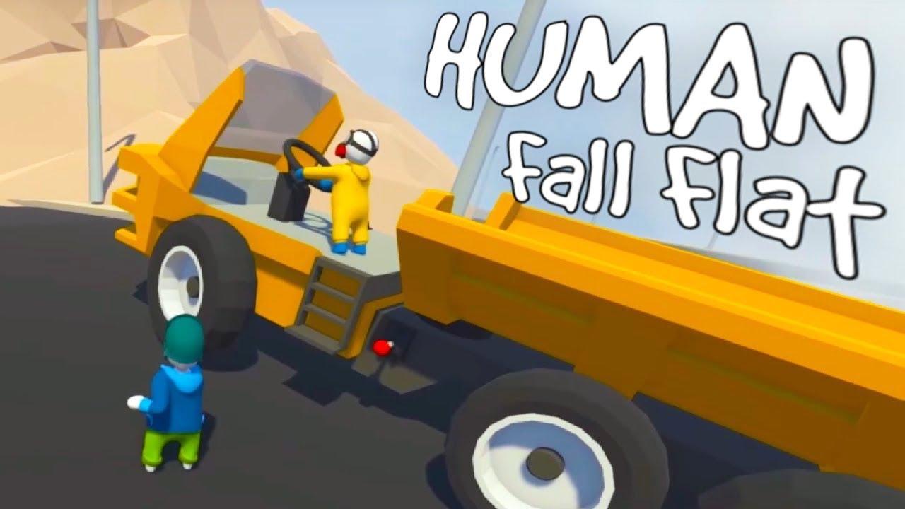 Human Fall Flat Phần 6 – Lái xe vận chuyển than đá từ hầm than | ND Gaming