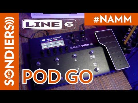 [NAMM2020] LINE 6 POD GO