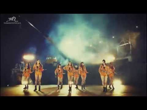 SNSD Catch Me If You Can dance mirror