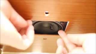 Claret Audio - Ceiling Speaker Installation -  Mounts Simple Method