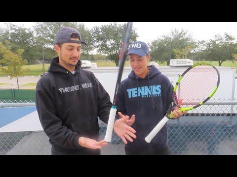Meet the racquet trick wizard, pro tennis player, Quinn Gleason