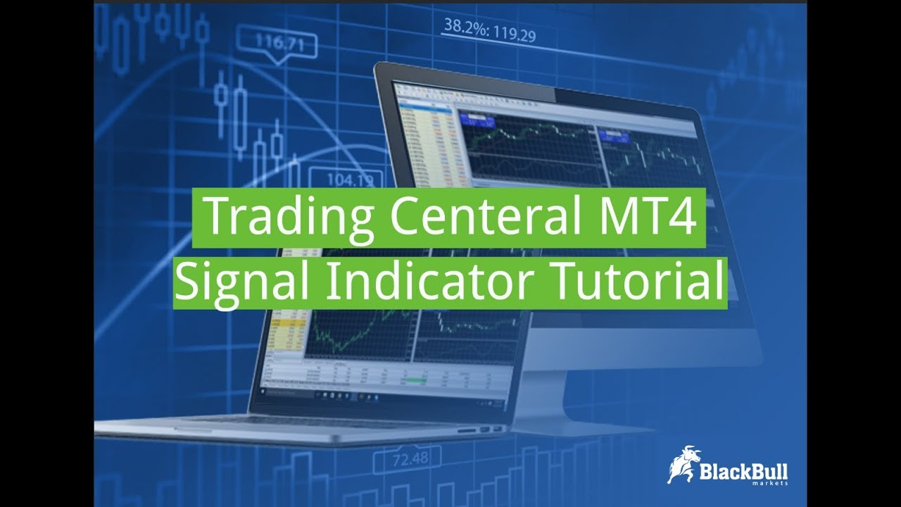 BlackBull Markets - Trading Central MT4 Signal Indicator tutorial
