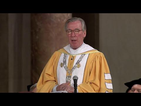 Commencement 2017 John Garvey Remarks