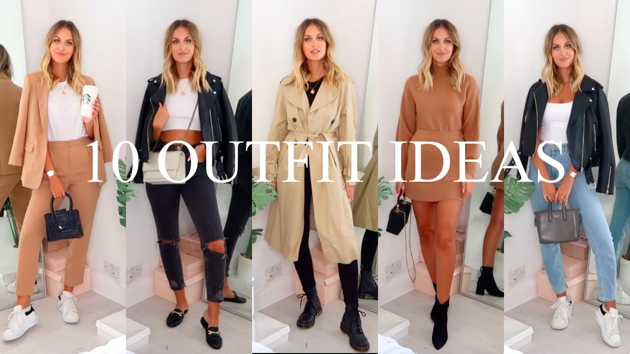 [VIDEO] – 10 AUTUMN/FALL CASUAL OUTFIT IDEAS