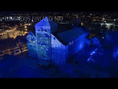 Luminous Finland 100 - Turku Castle