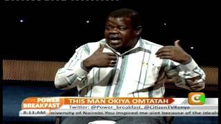Power Breakfast Interview: This Man Okiya Omtatah