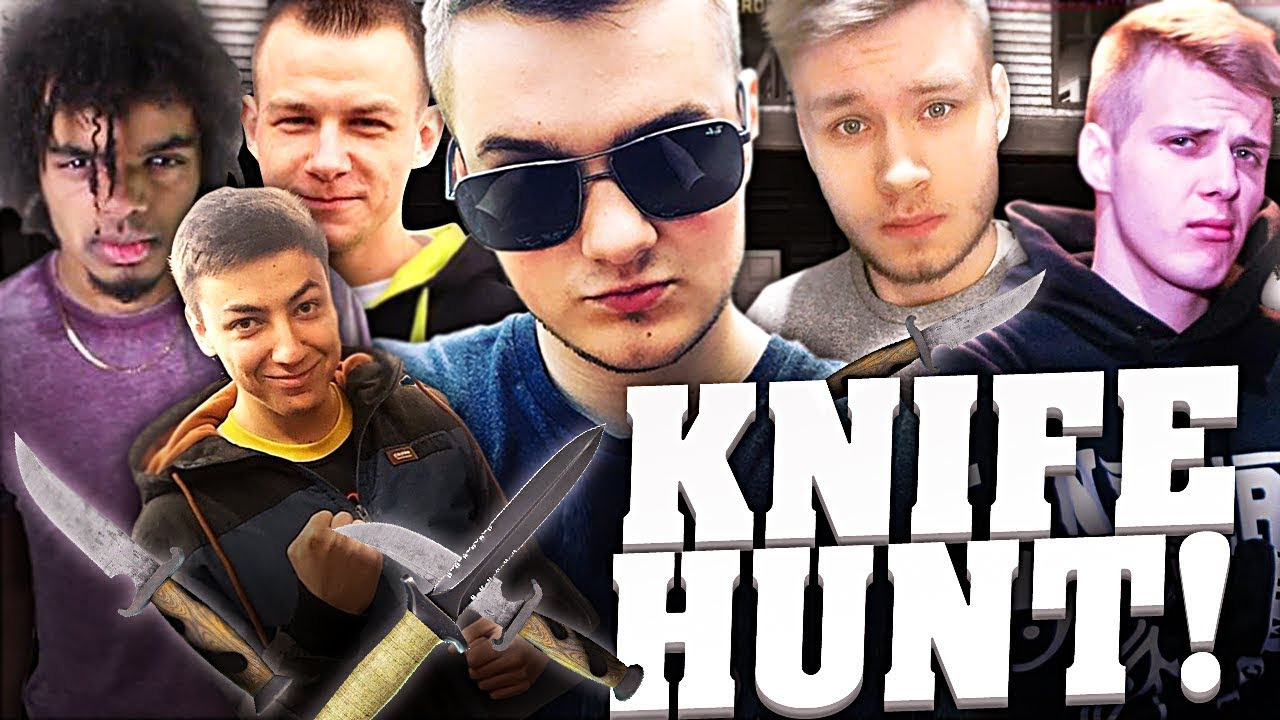 STRASZNIE SKOMPLIKOWANY KNIFE HUNT!