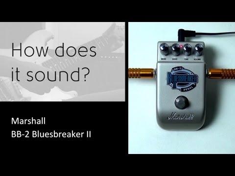 Marshall BB2-Bluesbreaker II - How does it sound?