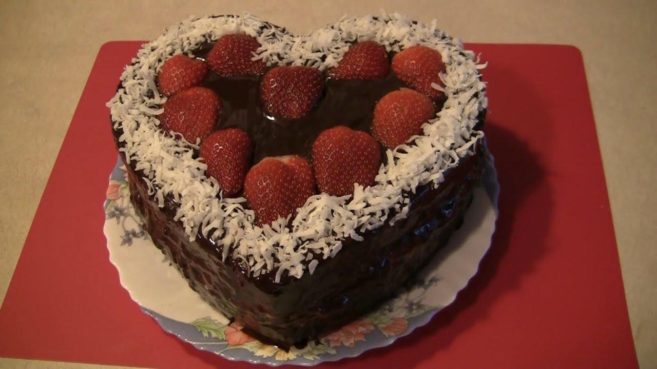 """Рецепт торта """"Влюбленное сердце"""""""