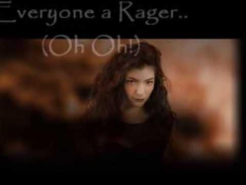 Glory and Gore HD Lyrics Video-Lorde